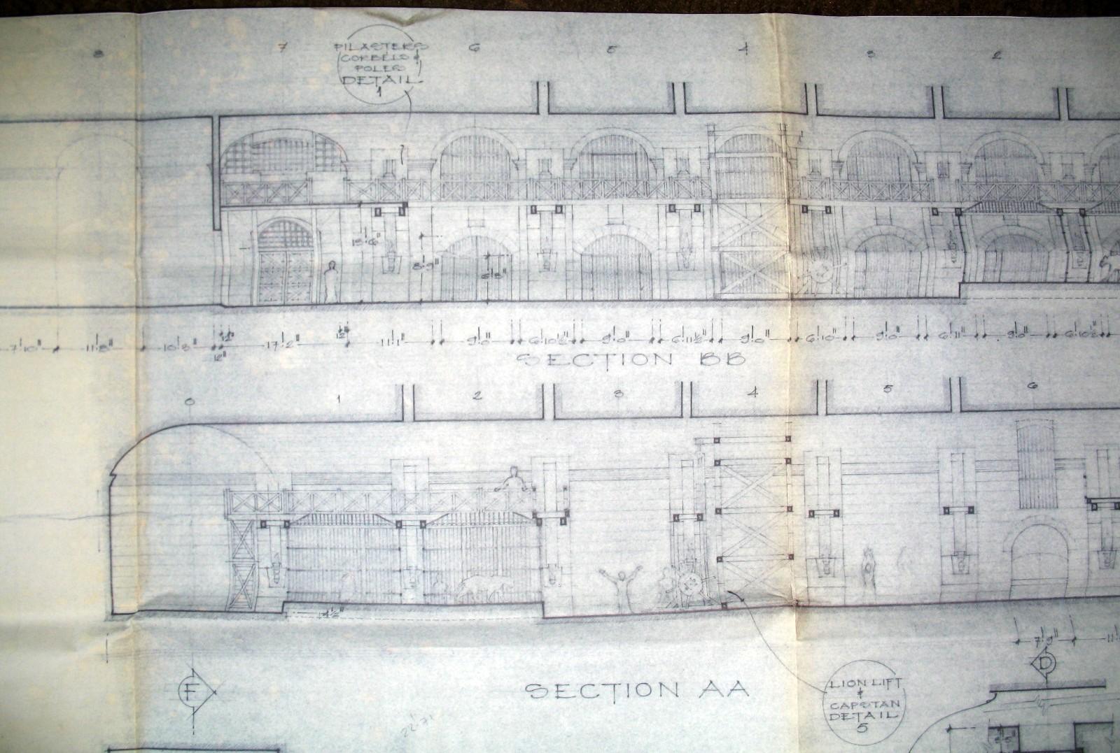 Architectural Plans of Roman Colosseum Stock Vector ...  Roman Colosseum Blueprints